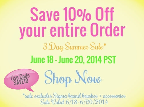 Summer Sale 10% OFF entire order