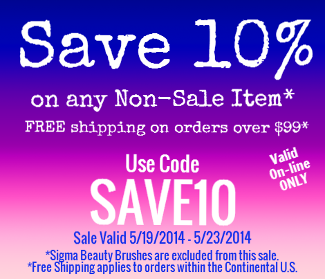 Save 10% on your entire order (excludes Sigma)