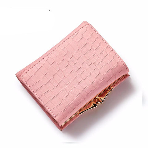 New Crocodile Pattern PU Leather Wallet For Women - bagsstore-us