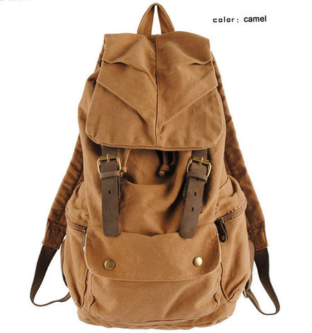 Major John Leather Rucksack Bag - bagsstore-us