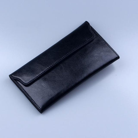 Luxurious Genuine Leather thin Purse/Wallet For Women - bagsstore-us