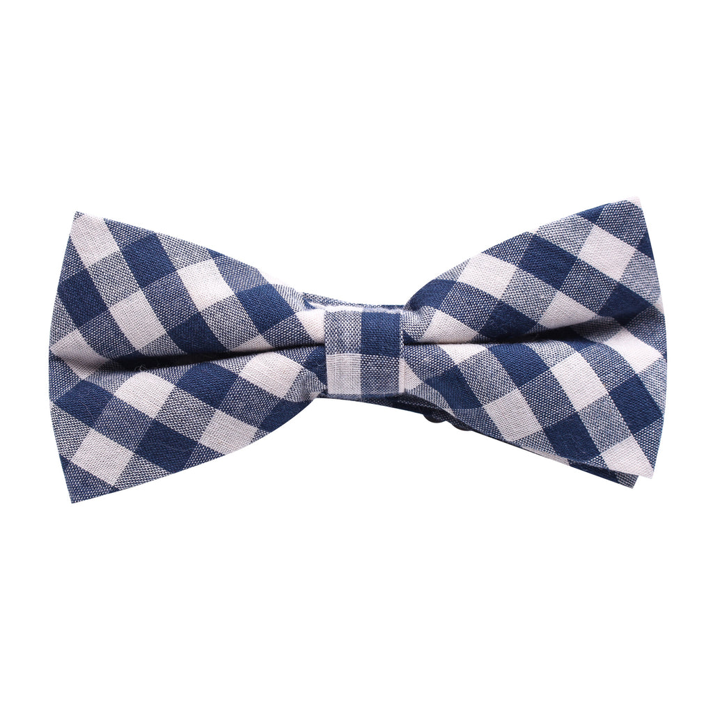 plaid bow tie