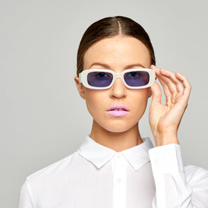 Reality Eyewear - Xray Spex Milky White Blue