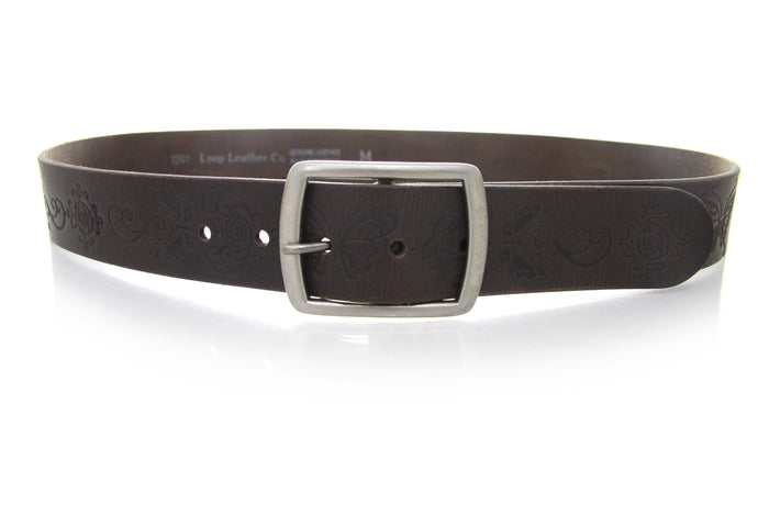 Loop leather San Vincete Belt