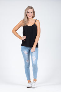 Beaut Cami Black