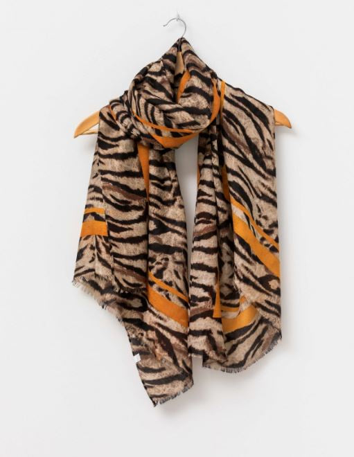 Stella and Gemma Safari Amber Scarf