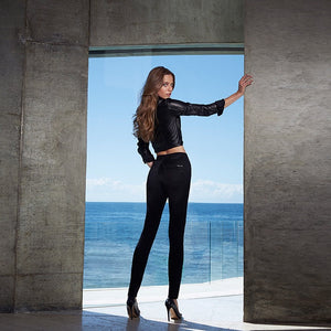 Mavi Alissa BLACK High Rise Super Skinny