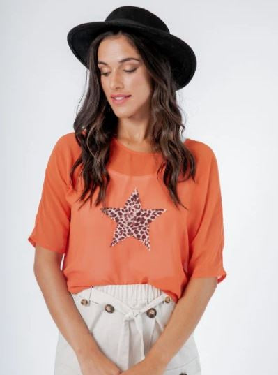 Orange Star Top