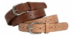 Loop Leather Skipping Girl Belt