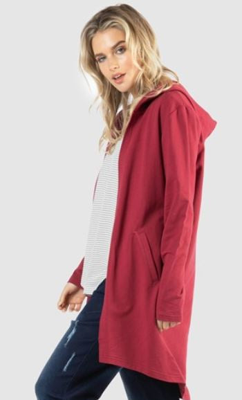 Betty Basics Jaden Hoodie - Wildberry