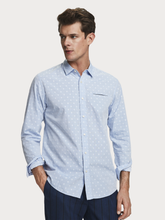 Scotch & Soda Jacquard Shirt Light Blue