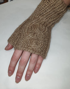 365 Days Cable Fingerless Gloves