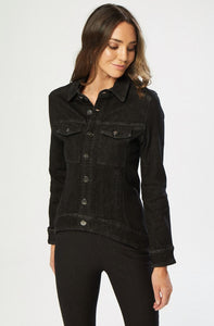 New London Charles Denim Jacket - Black