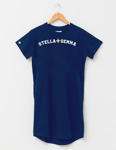 Stella + Gemma TShirt Dress - Marine