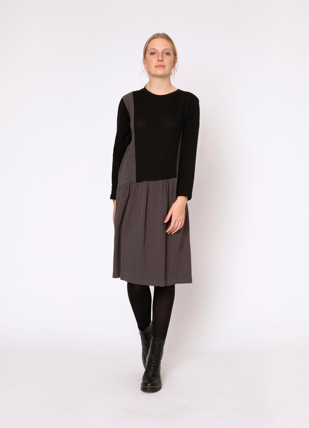 Blacklist Nova Black Charcoal Dress