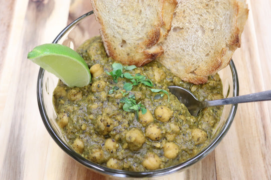 Salsa Verde Chickpea Curry