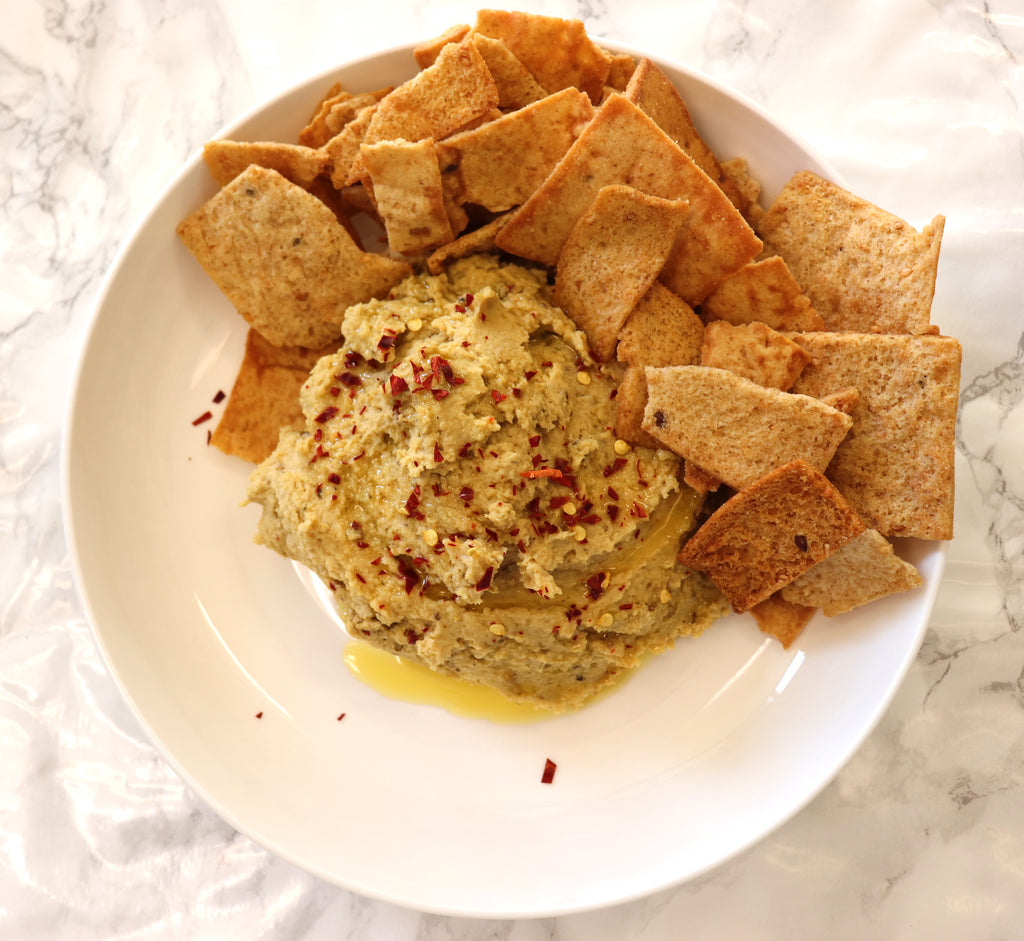 Roasted Shishito Pepper Hummus