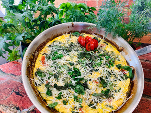 Seedsheet Frittata, Your Way!