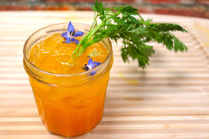 Autumn Carrot Ginger Cocktail