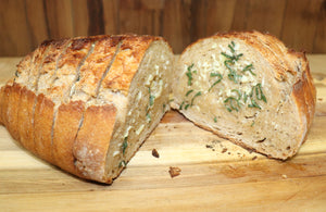 Sage Garlic Bread
