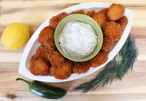 Fried Pickles with Dill Dip