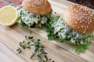 Green Machine Tuna Salad Sandwich