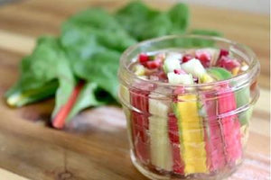 How to Make Tasty Pickles Out of Rainbow Chard Stems