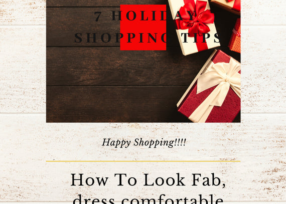 7 Holiday Shopping Tips To Ease Your Shopping