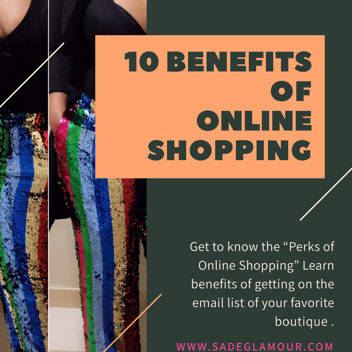 10 Benefits of Online Shopping
