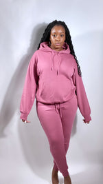 "Load image into Gallery viewer, Begonia ""Pink Me"" Jogger set - SADE GLAMOUR"