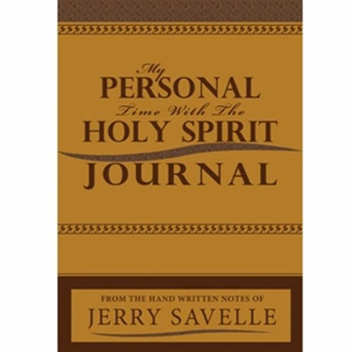 My Personal Time With The Holy Spirit Journal