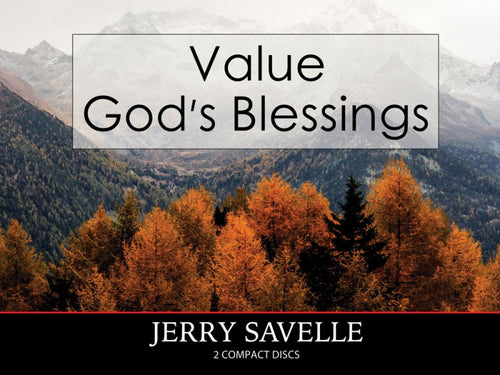 Value God's Blessings