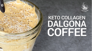 Collagen Boosted Dalgona Coffee