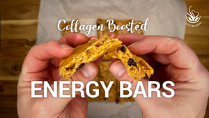 No-bake Collagen Boosted Energy Bars