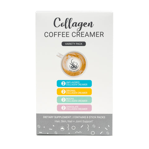 Collagen Coffee creamer variety pack
