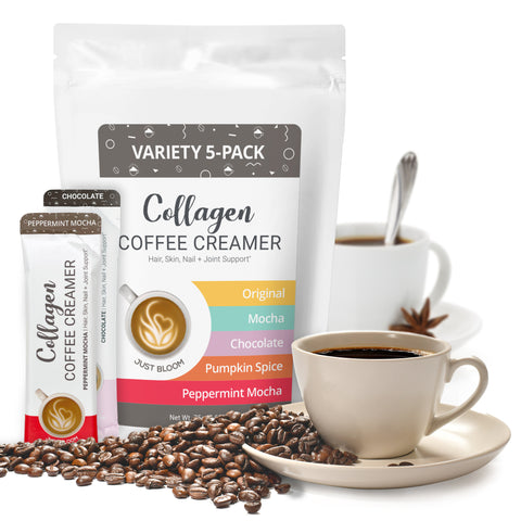 Collagen Creamer Variety Pouch | 5-Packets