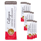 Peppermint Mocha Collagen Coffee Creamer - 10ct Pouch