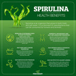 Organic Spirulina Powder- Resealable Pouch