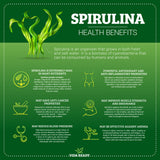 Organic Spirulina- 1 lb Resealable Pouch