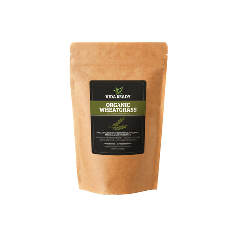 Organic Wheat Grass - Resealable Pouch