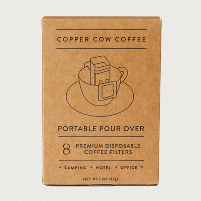 Portable Pour Over Filters (8 Pack)