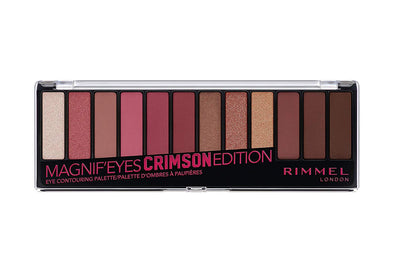 Rimmel Magnif'eyes Eyeshadow Palette Crimson 007