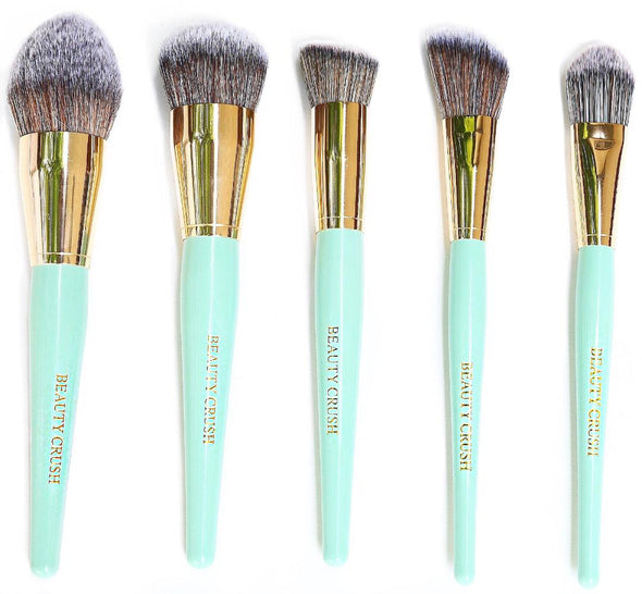 Beauty Crush Face 5pc Brush Set