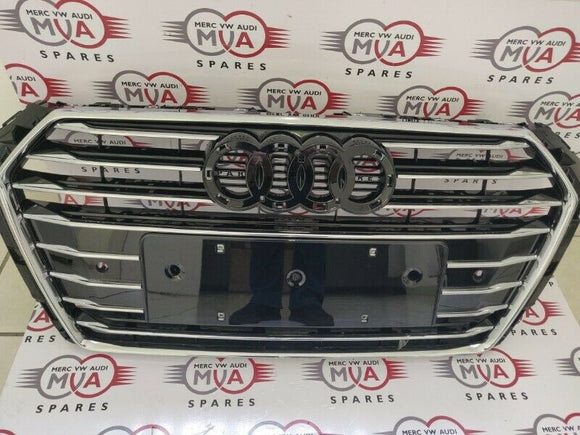Front Radiator Grille Audi A4 Type 8W Front from 2015 8W0853651AB New