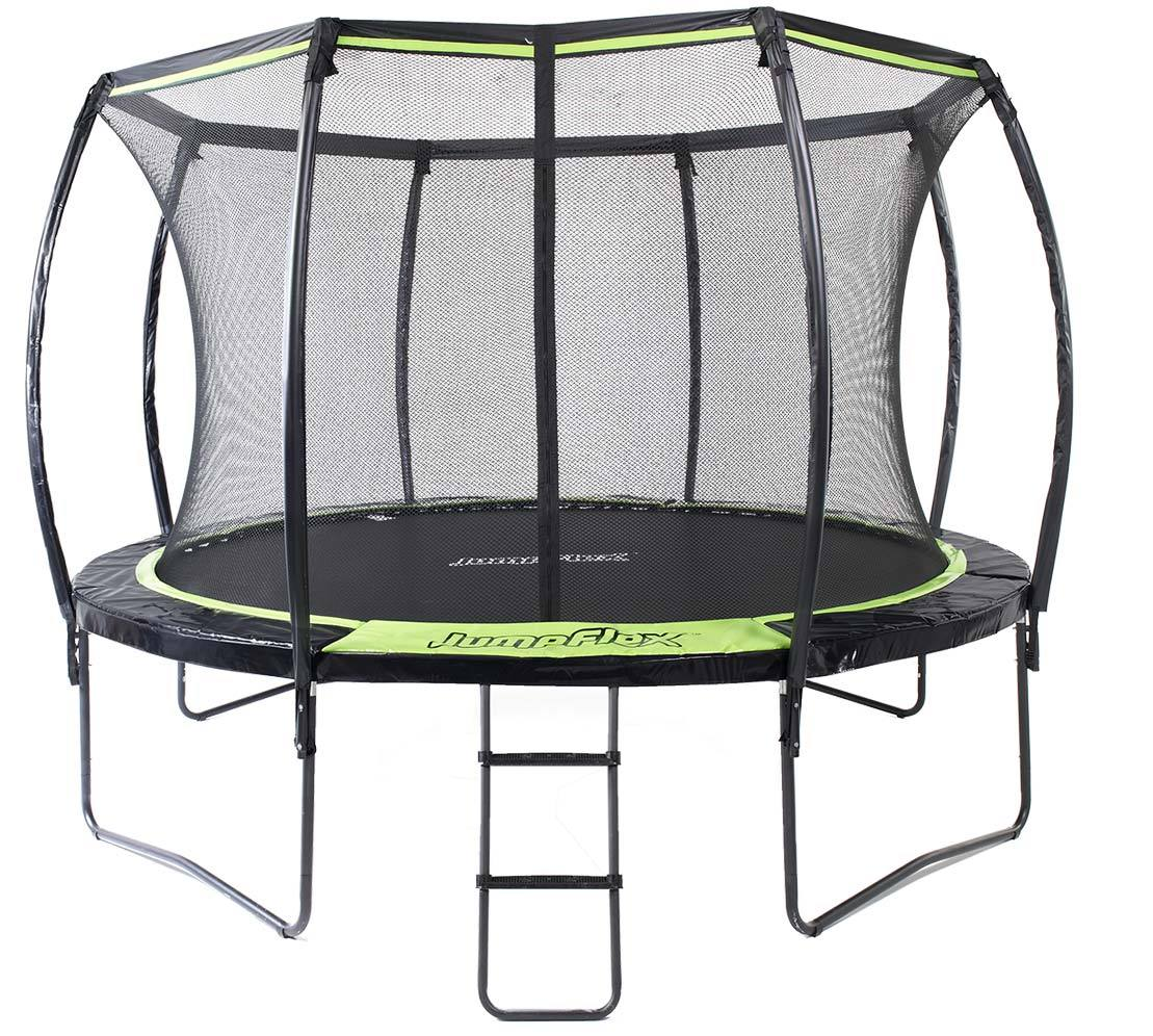 Top 10 Best Oval Trampoline With Safety Enclosures Our Top: 10ft Trampoline With Net Enclosure - FLEX100