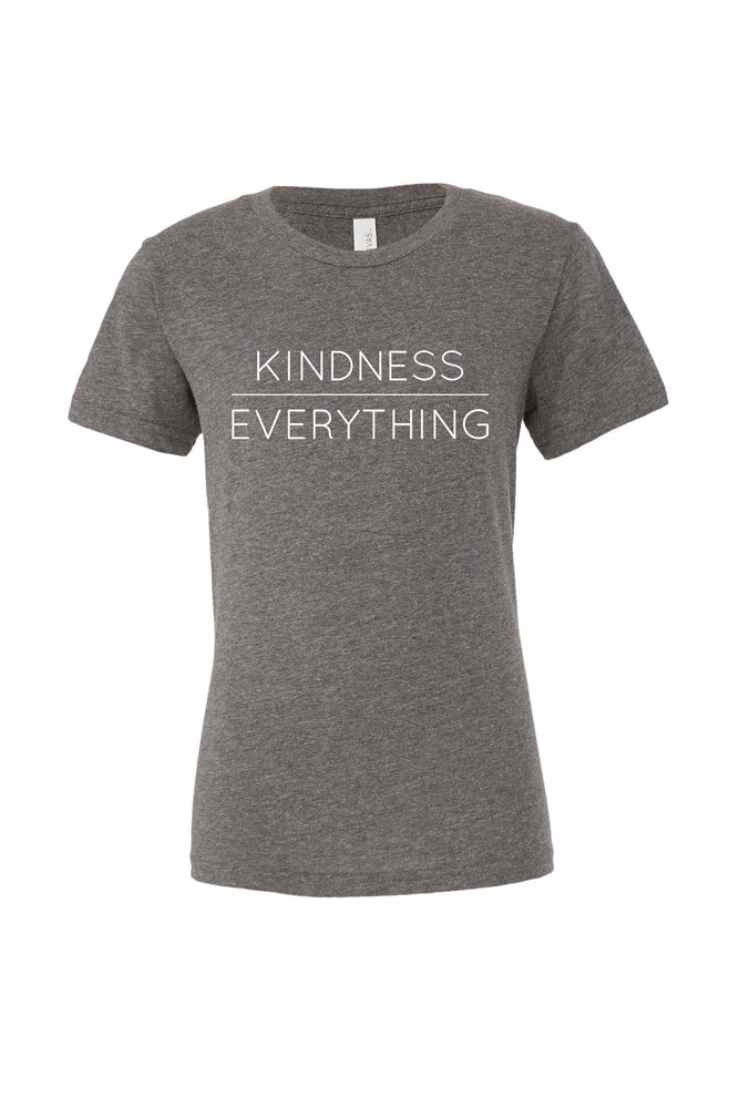 Load image into Gallery viewer, Kindness Over Everything Kids T-Shirt - Olive & Auger