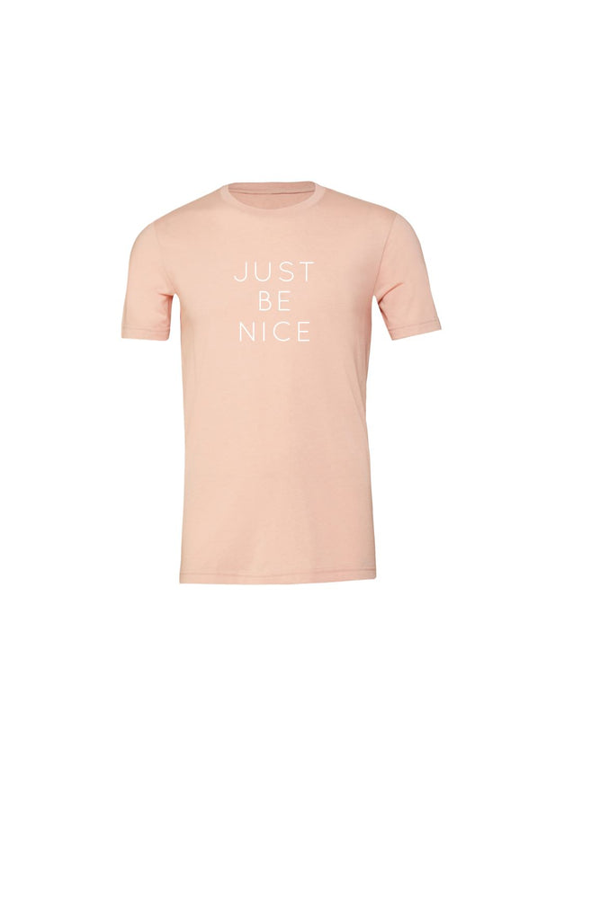 Load image into Gallery viewer, Just Be Nice Kids T-Shirt - Olive & Auger