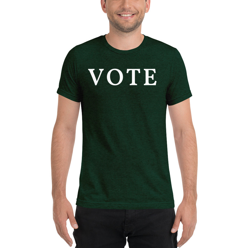 Load image into Gallery viewer, VOTE Unisex T-shirt - Olive & Auger