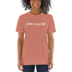 Load image into Gallery viewer, Anti-Racist Unisex T-Shirt - Olive & Auger