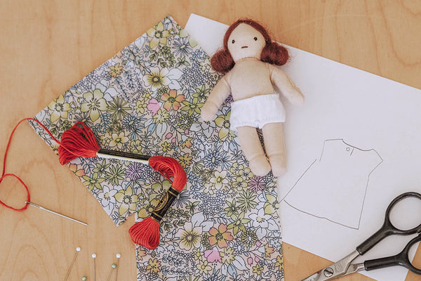 DIY | Holdie Folk Dress Pattern